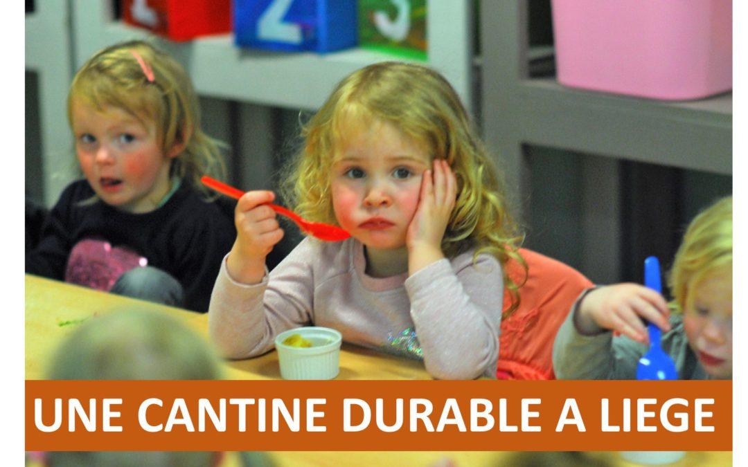 Vote d'un texte contre les perturbateurs endocriniens dans l'assiette des élèves suite au festival Nourrir Liège